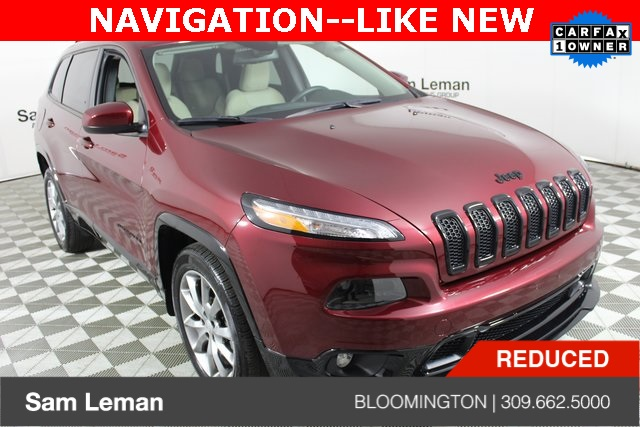 Pre Owned 2018 Jeep Cherokee Latitude 4d Sport Utility In