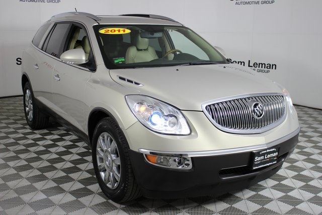 pre-owned 2011 buick enclave cxl 4d sport utility in bloomington